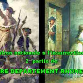 LA CREATION DU DEPARTEMENT DE RHONE-ET-LOIRE
