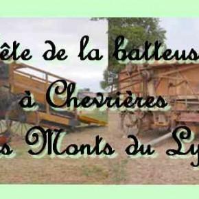 La soupe aux choux et le battage à Chevrières dans les Monts du Lyonnais