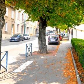 """L'avenue des Tilleuls, à Chazelles, a pris """"forme"""" il y a 110 ans"""