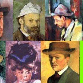 Le chapeau chez les peintres impressionnistes.