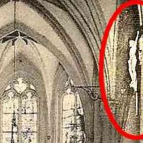 Malgré l'Ascension, ce Christ est bien resté sur terre.