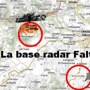 La base des radars de La Mornandière (Chazelles-sur-Lyon)