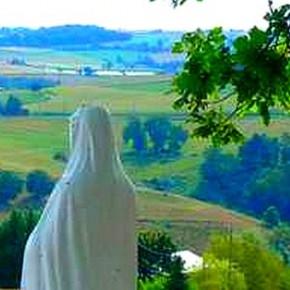 Notre Dame de Lourdes à Chazelles.