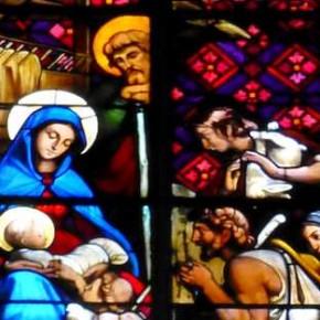 La Nativité dans l'église de Chazelles
