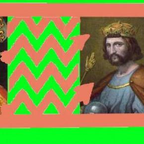 Tout le monde descend de Charlemagne, c'est possible ! Les Chevron des Monts du Lyonnais descendent de Hugues Capet, c'est certain !