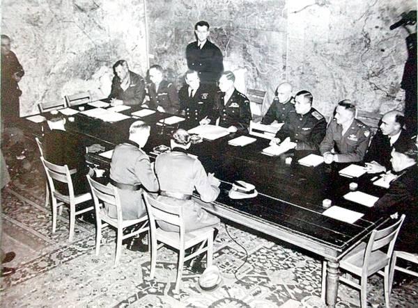 capitulation 1945 reims