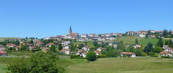 Un nom unique au monde mais petite perle des Monts du Lyonnais; Saint-Christô (en-Jarez)