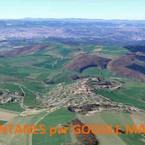 Le village de Fontanès: c'est aussi les Monts du Lyonnais.