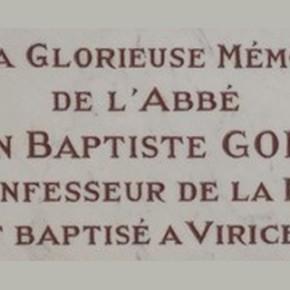 Le Curé Gonon, un viriciaud guillotiné.