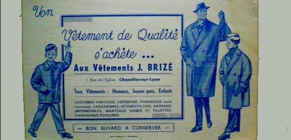 Publicité commerciale en 1928