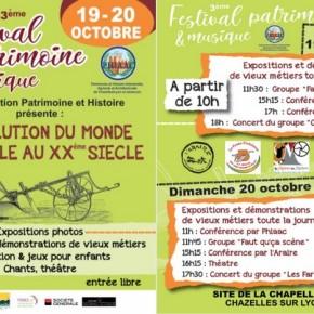 FESTIVAL PATRIMOINE & MUSIQUE