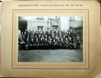 Banquets des Classes 1871, 1881, 1891, 1901, 1911
