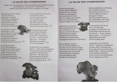 LA VALSE DES CHAMPIGNONS