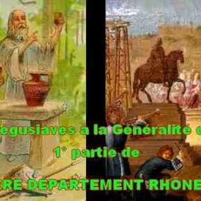 L'ÉPHÉMÈRE DÉPARTEMENT RHÔNE ET LOIRE. 1° partie.