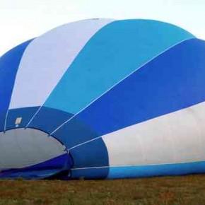 PHIAAC voyage en montgolfière à la recherche de l'embouchure de la Coise.