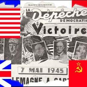 L'Armistice de mai 1945: un peu d'histoire.