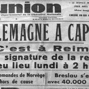 LA CAPITULATION ALLEMANDE EN MAI 1945