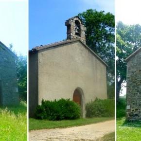 Les chapelles sur la commune de Larajasse.